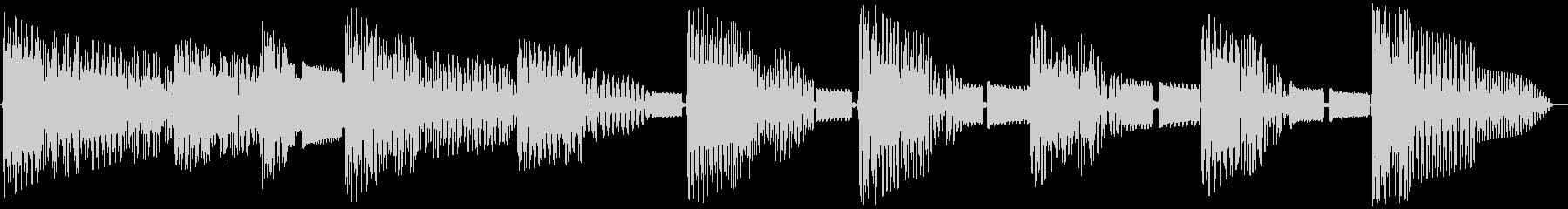 レトロゲームジングル:ゴシック2の未再生の波形