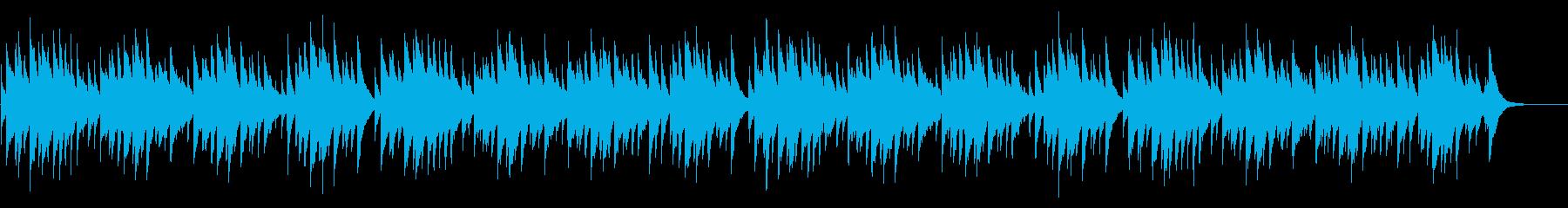 蛍の光 72弁オルゴールの再生済みの波形
