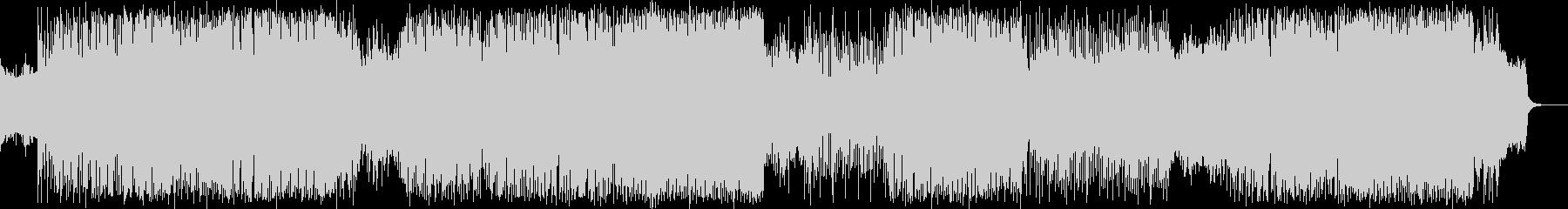 レトロゲームミュージック_ハードロック…の未再生の波形