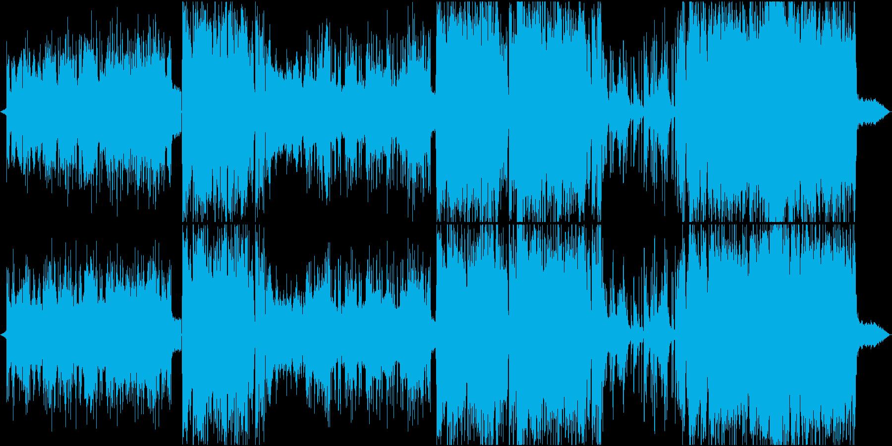 【生演奏】切ない雰囲気と海っぽい弦楽器曲の再生済みの波形