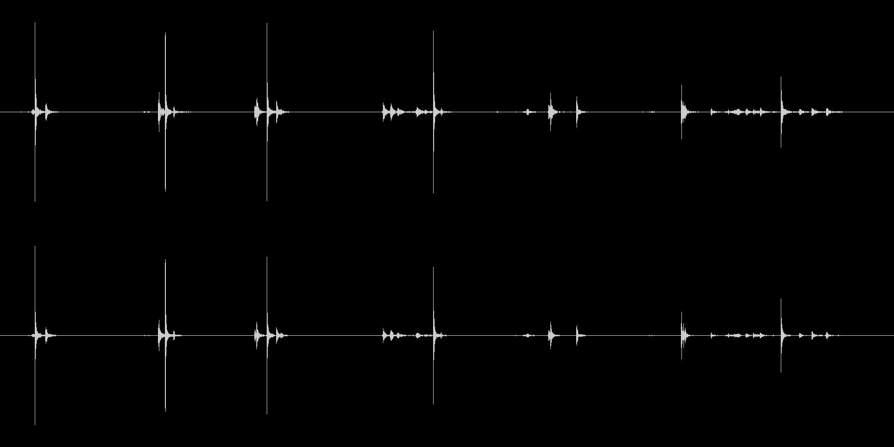 バキュームクリーナー、スモール、パ...の未再生の波形