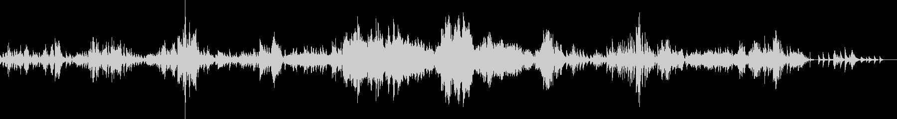 ショパン ノクターン Op62-No2の未再生の波形