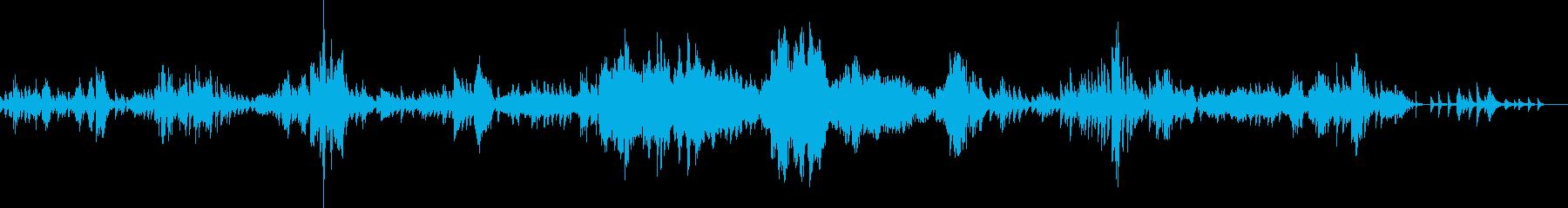 ショパン ノクターン Op62-No2の再生済みの波形