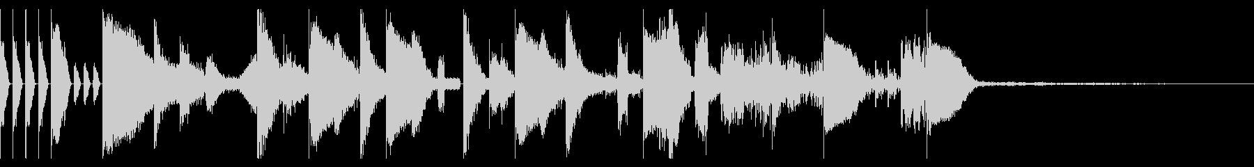 Tonal FX、155 BPMの未再生の波形