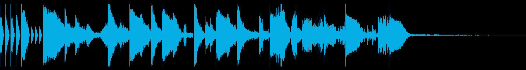 Tonal FX、155 BPMの再生済みの波形