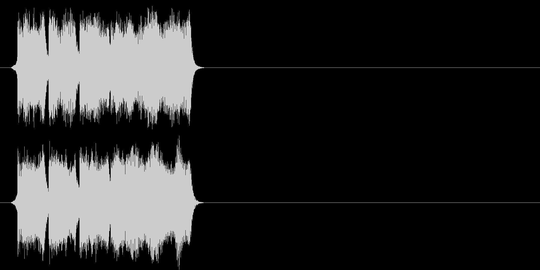 正解の時の効果音その1ですの未再生の波形