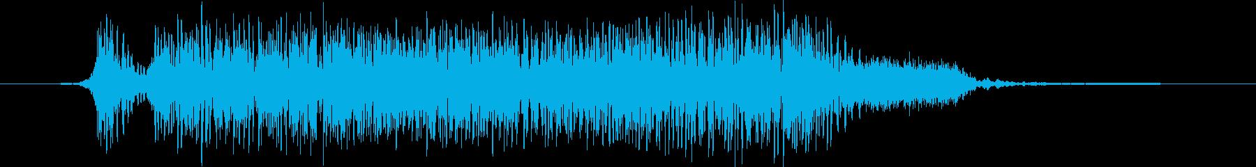 火炎放射器 ミディアムヘビーシングル01の再生済みの波形