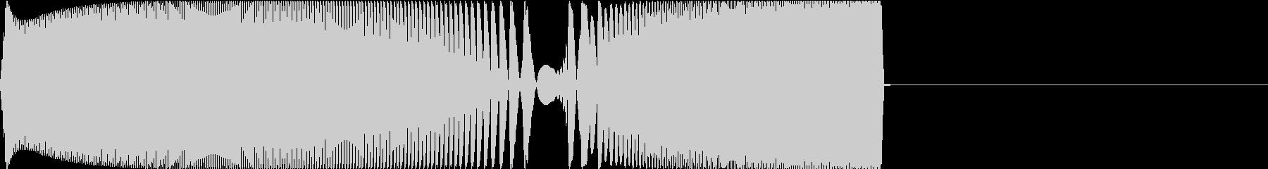 Game レトロなゲームコマンド音 1の未再生の波形