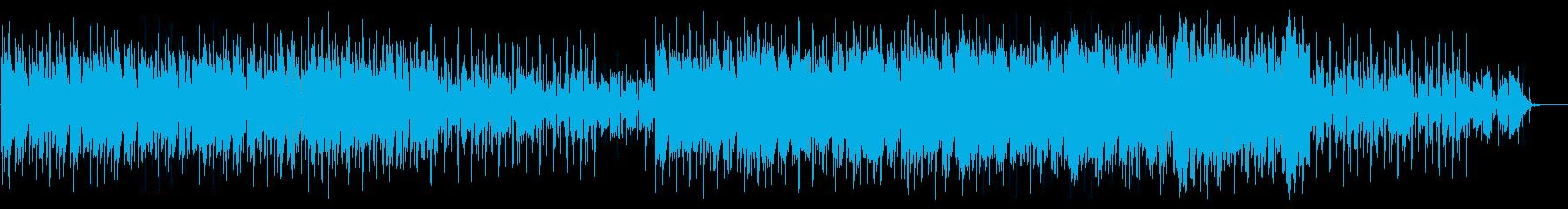 グリッチ、シーケンス_ノイズ減の再生済みの波形