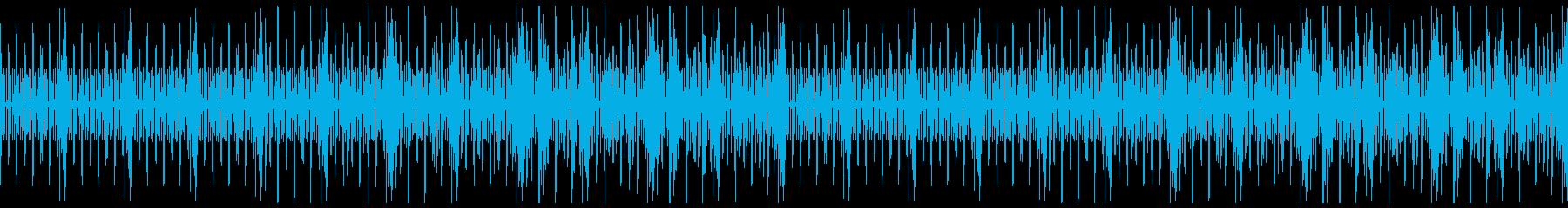 Mechanical alarm clock's reproduced waveform