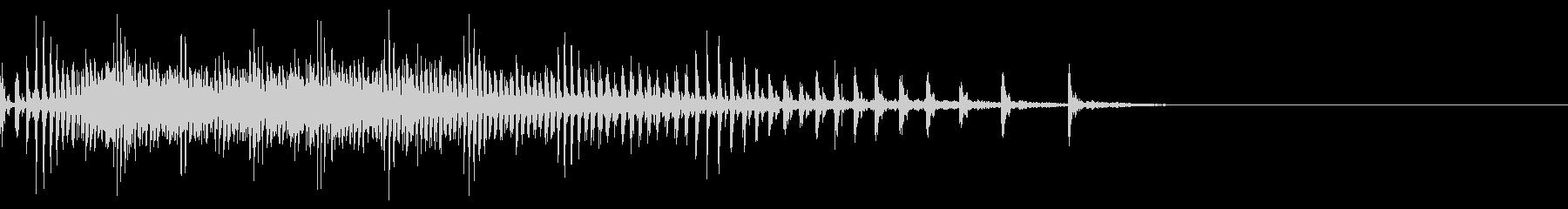 [生録音]魚釣り、リールを巻く13の未再生の波形