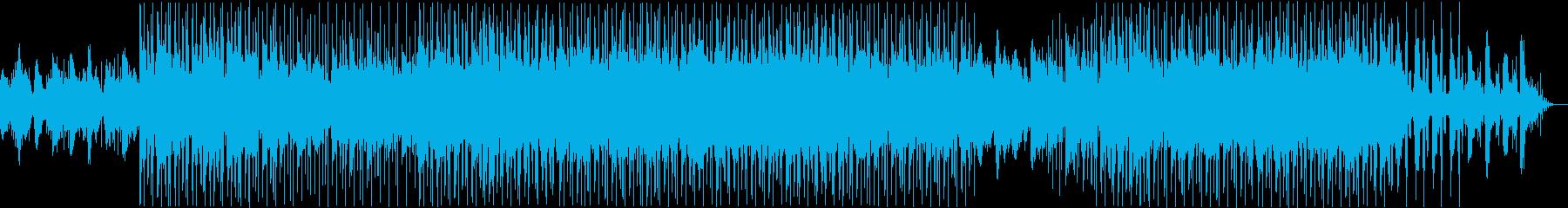 ピアノメインのChill Hip Hopの再生済みの波形