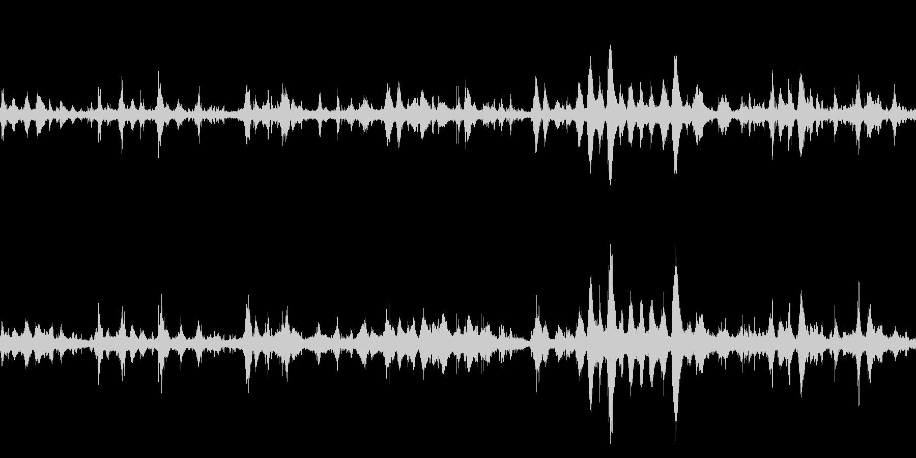大浜海岸の波の音 10 【徳島】ループの未再生の波形