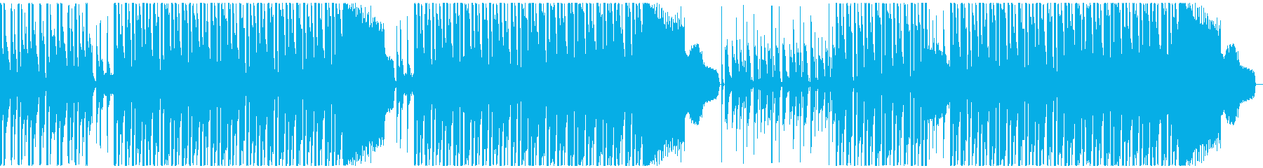 遊び心のある軽快なレゲエの再生済みの波形