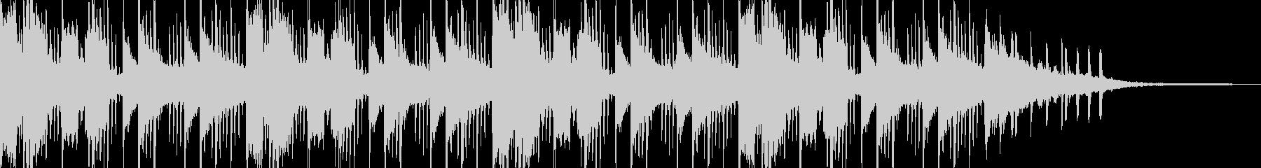 ベッドルームmusic⑥(チルトラップ)の未再生の波形