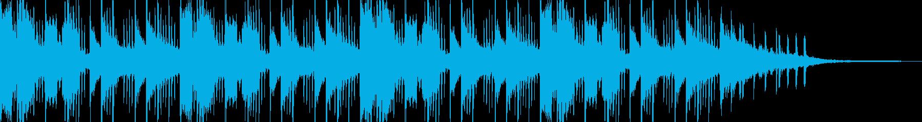 ベッドルームmusic⑥(チルトラップ)の再生済みの波形