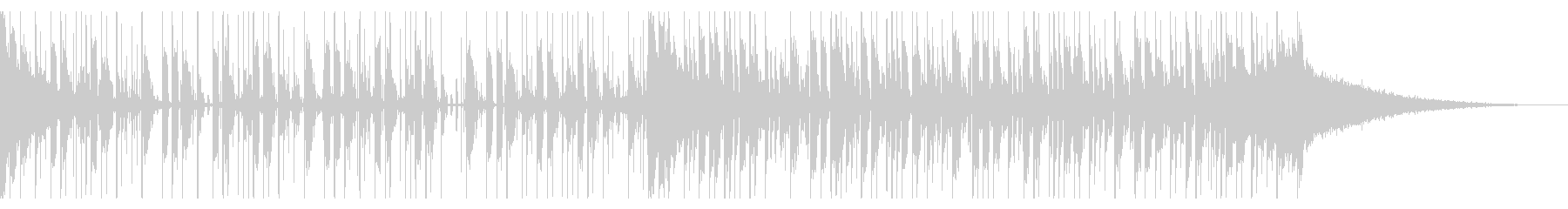 117 BPMの未再生の波形