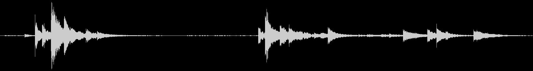 ベルドアエントリー小cの未再生の波形