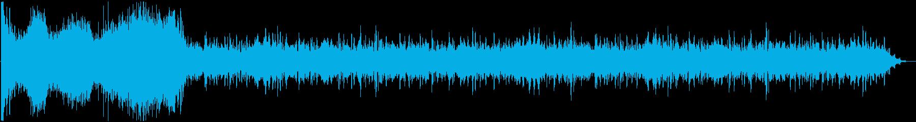 イメージ アタッキングハイ03の再生済みの波形