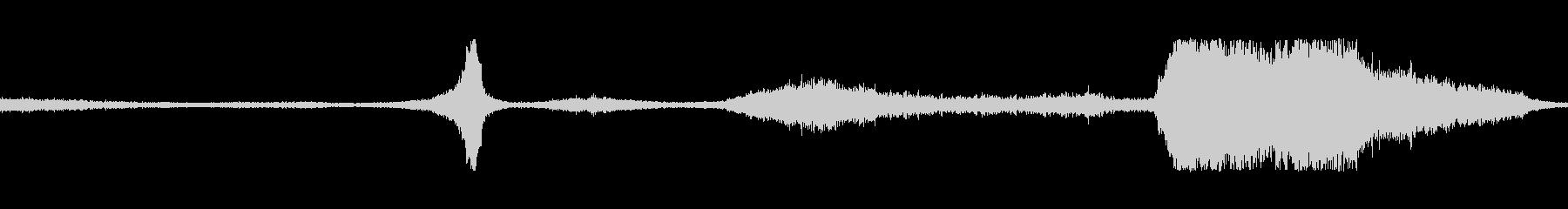 ジェットパスnの未再生の波形