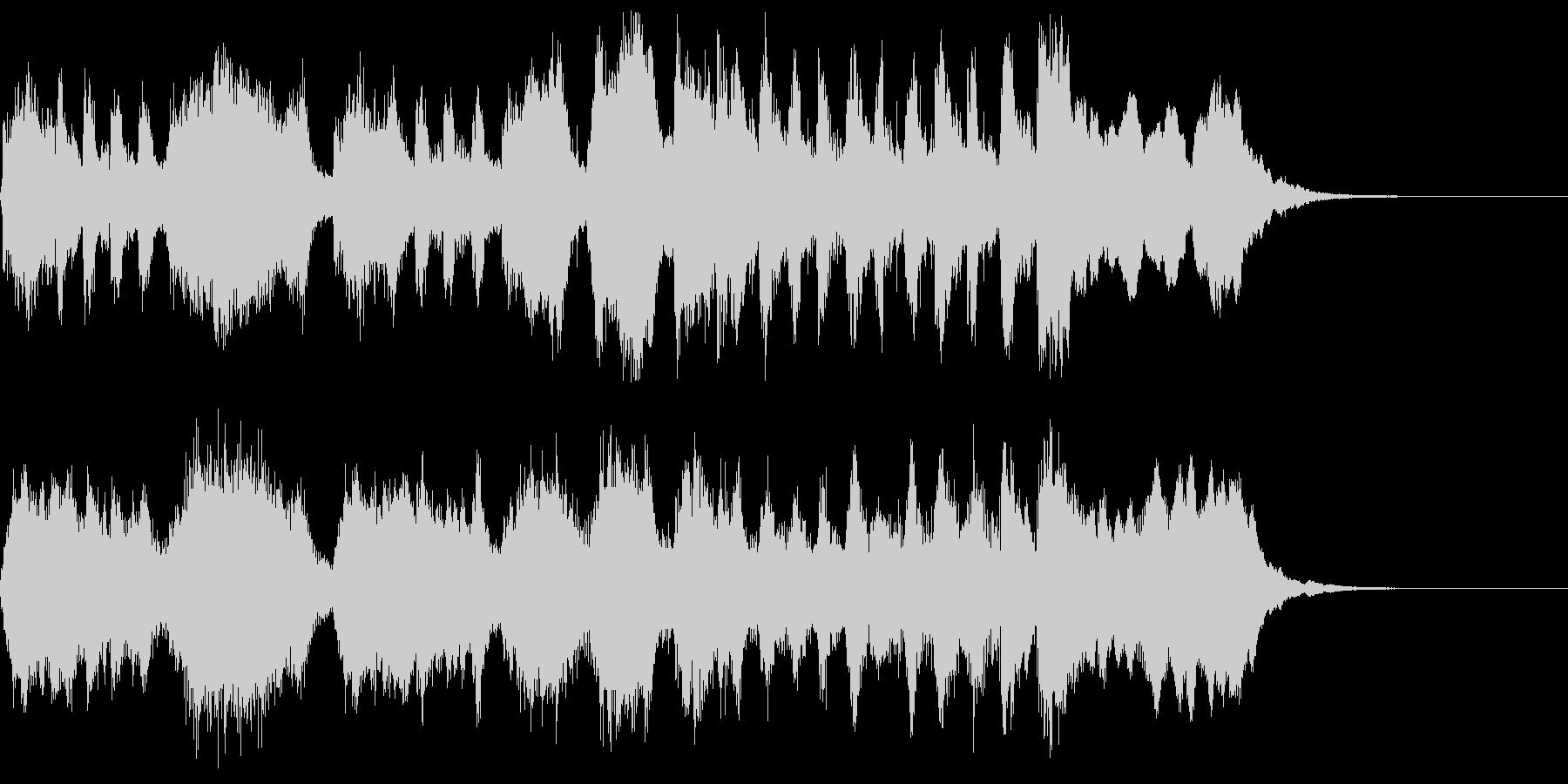 ファンファーレ 打楽器なしの未再生の波形