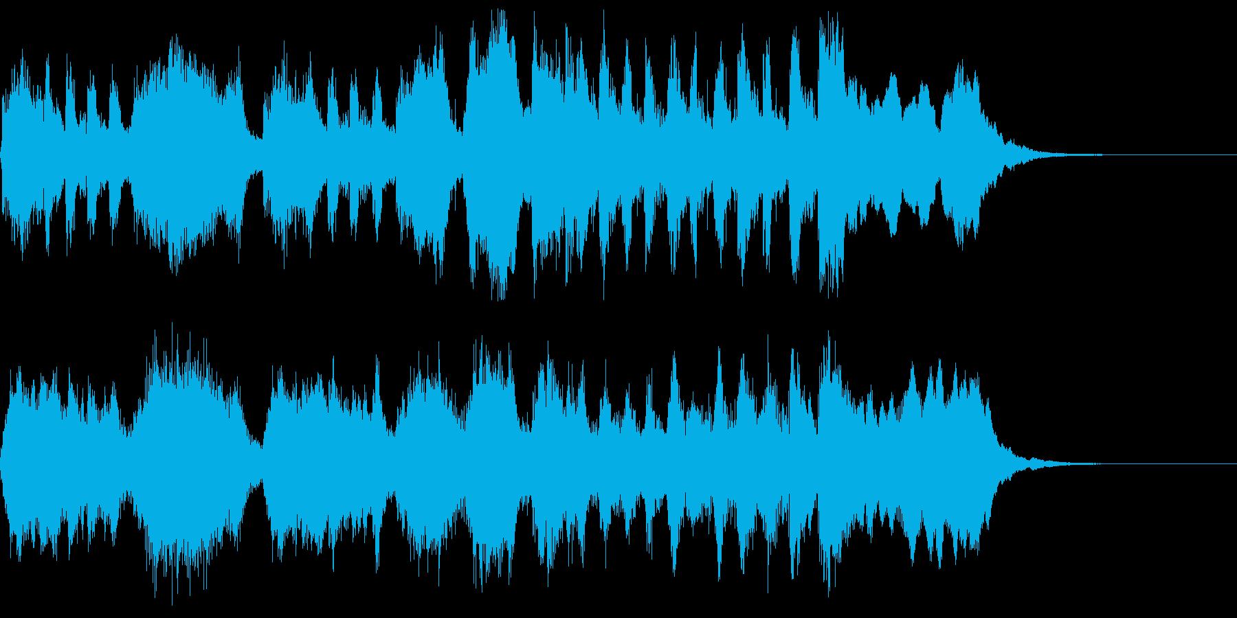 ファンファーレ 打楽器なしの再生済みの波形