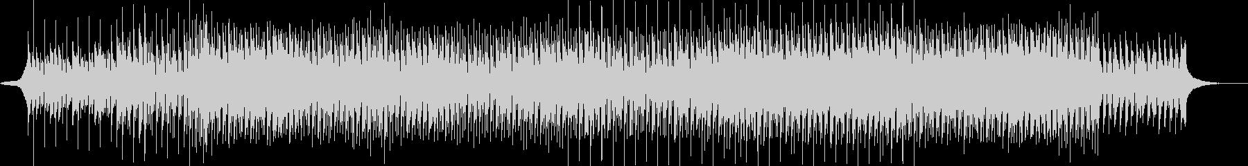 シンセをメインに用いた暗い雰囲気のハウスの未再生の波形