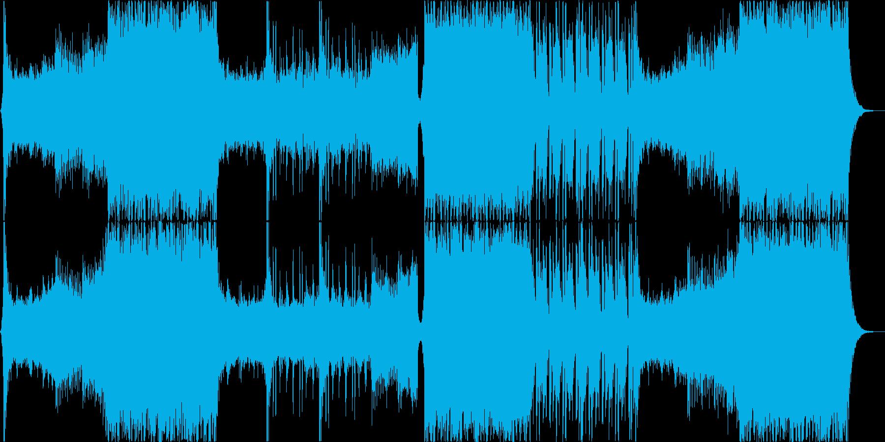eスポーツ 大会 EDMの再生済みの波形