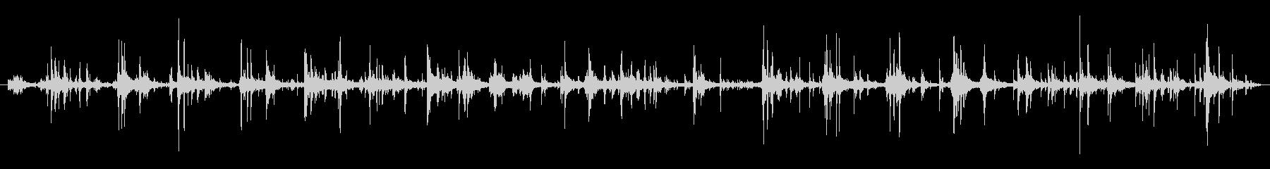 ハーネス ウォークシーケンス01の未再生の波形