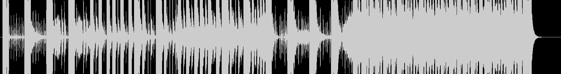 ワイルドで技術な曲の未再生の波形