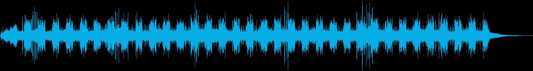 虫の声 水辺 川の再生済みの波形