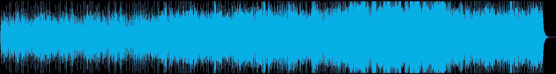 朝日が昇るような神秘的なピアノヒーリングの再生済みの波形