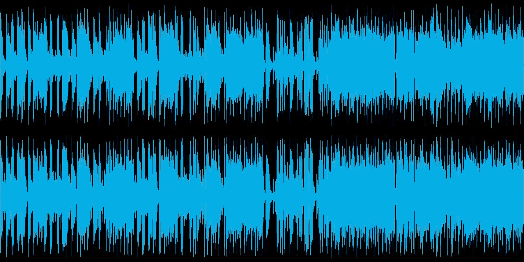 ジャズピアノ3拍子のブルース ループの再生済みの波形