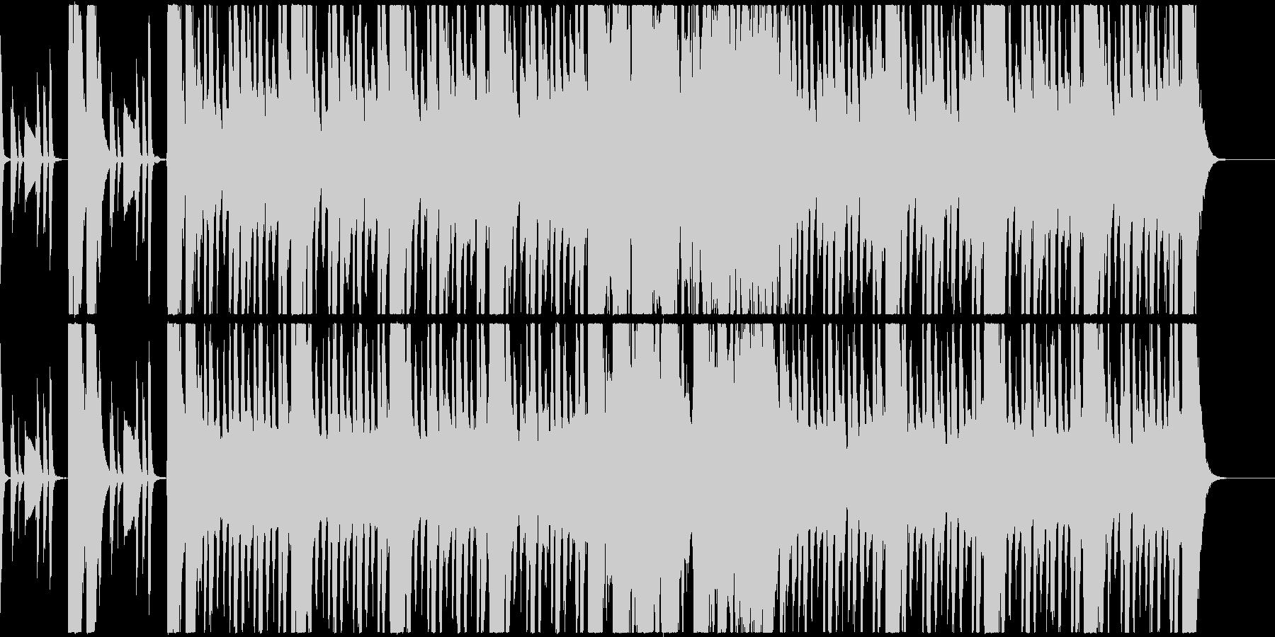 怪しいオーケストラの未再生の波形