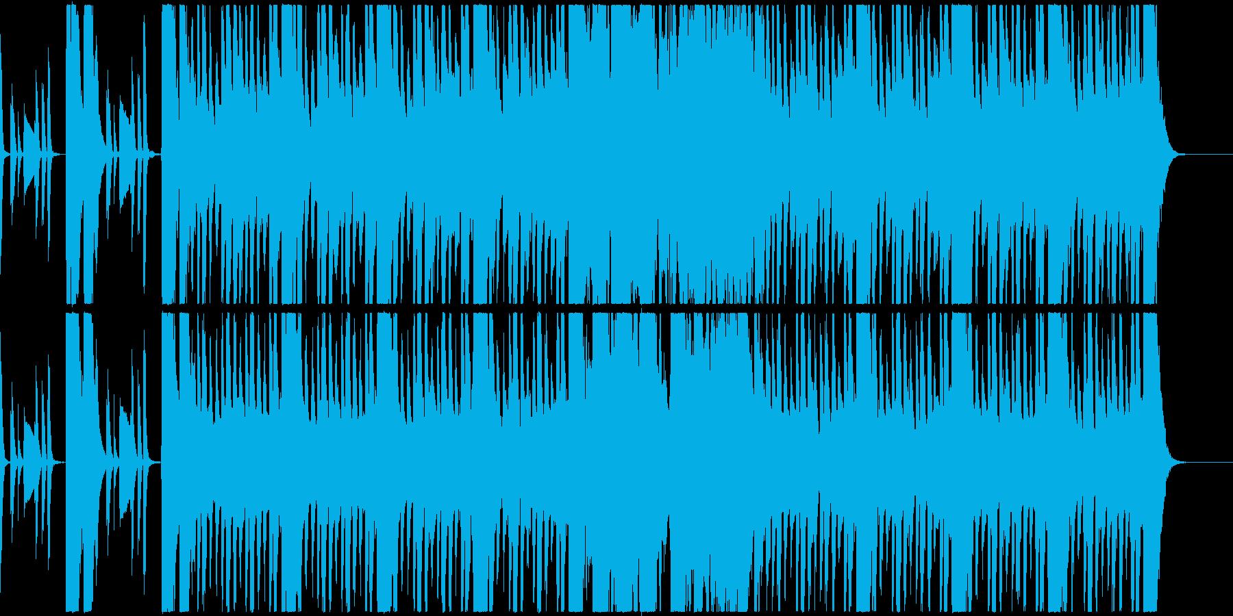 怪しいオーケストラの再生済みの波形