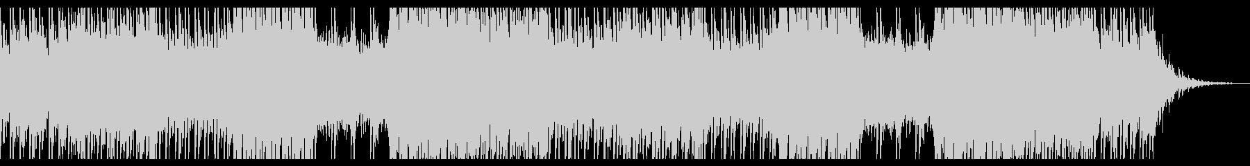 幻想的なピアノ/アンビエントの未再生の波形