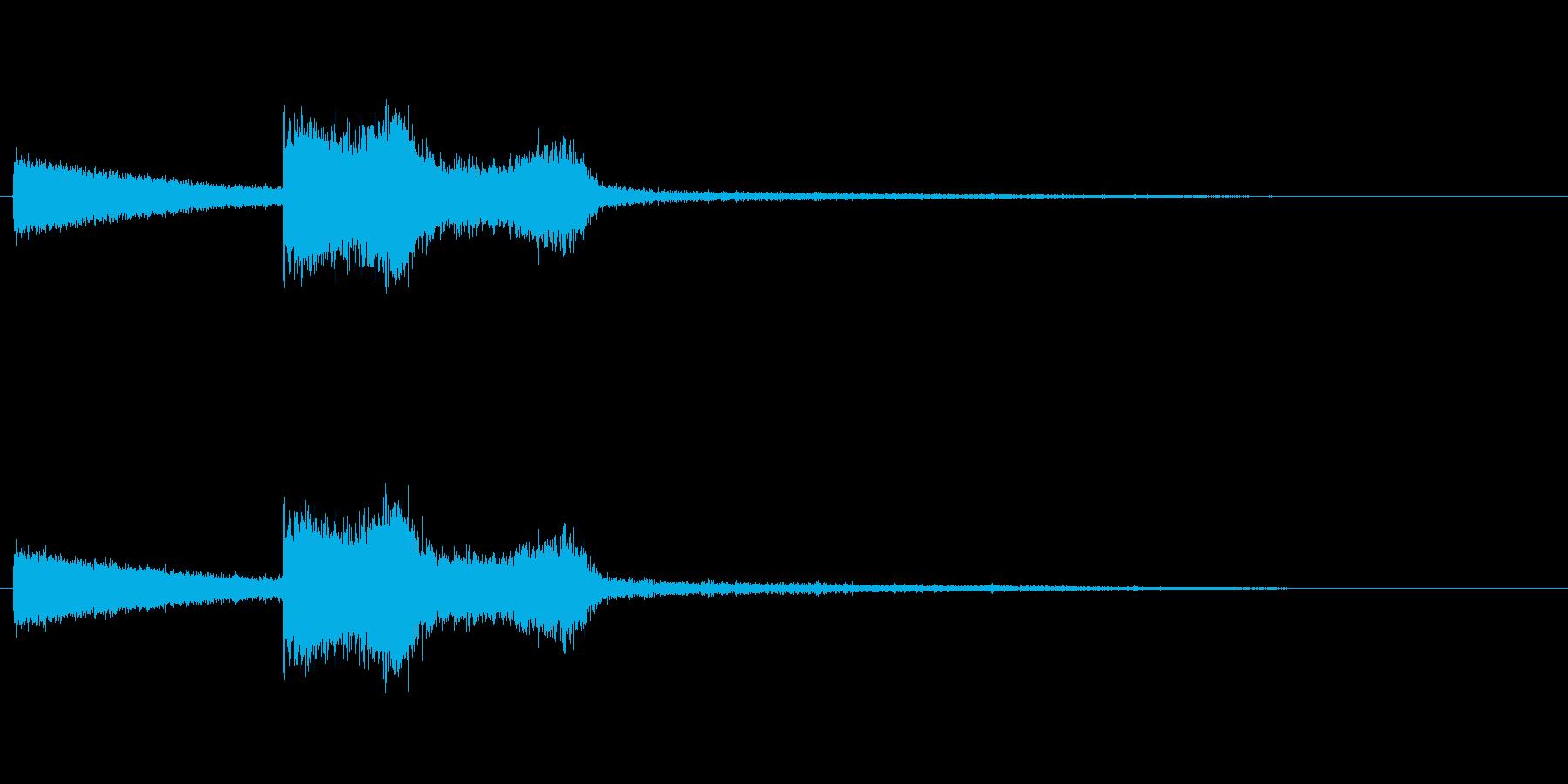 シューンの再生済みの波形