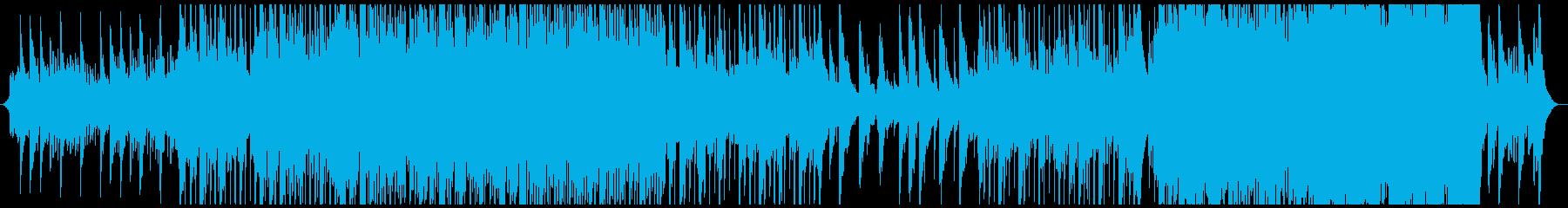気分が上がるクリスマスBGMの再生済みの波形
