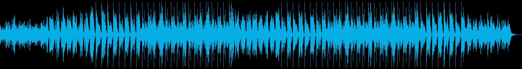 異国感のあるヒップホップBGMの再生済みの波形