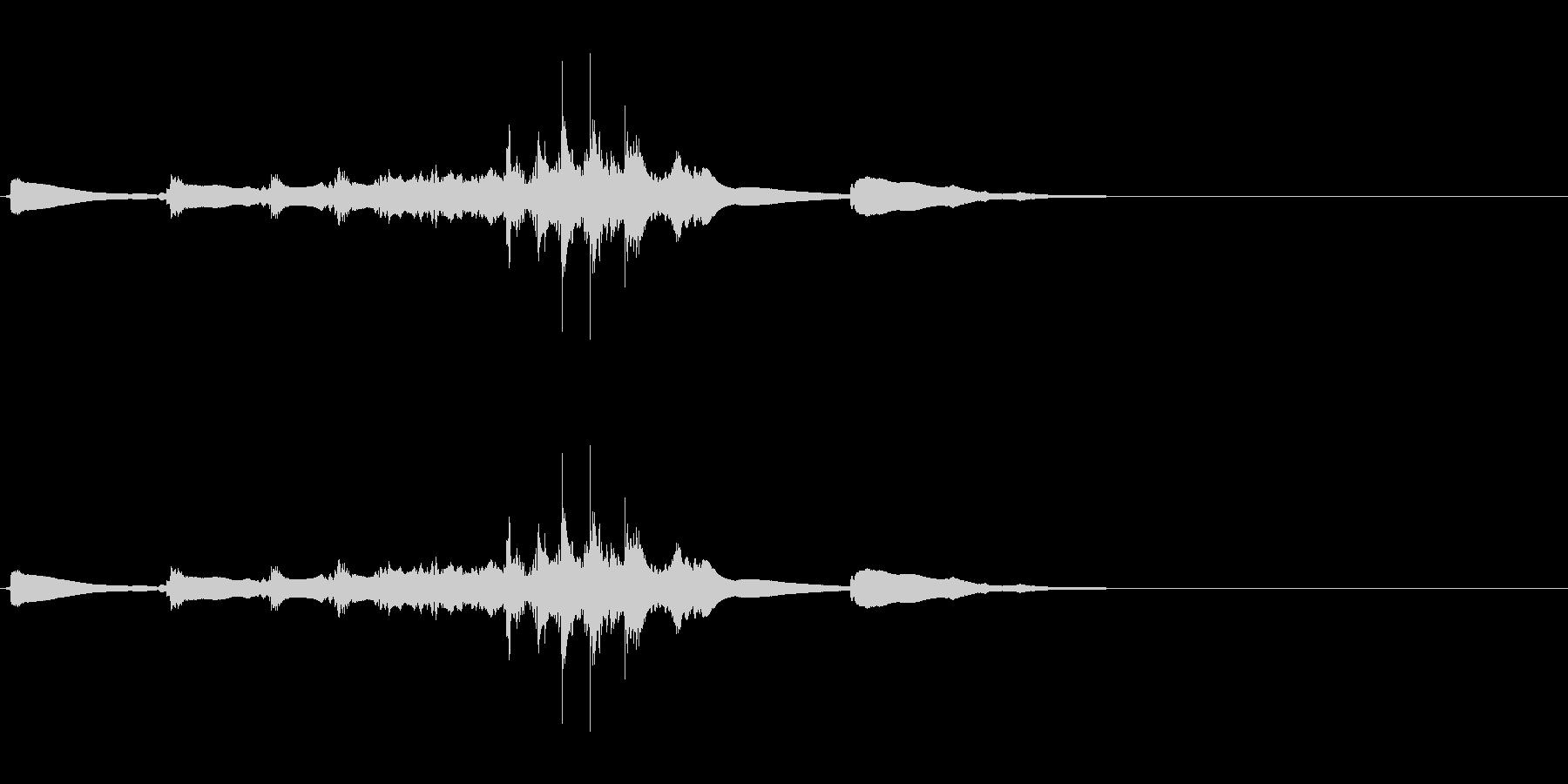 生演奏 琵琶 和風 古典風#7の未再生の波形