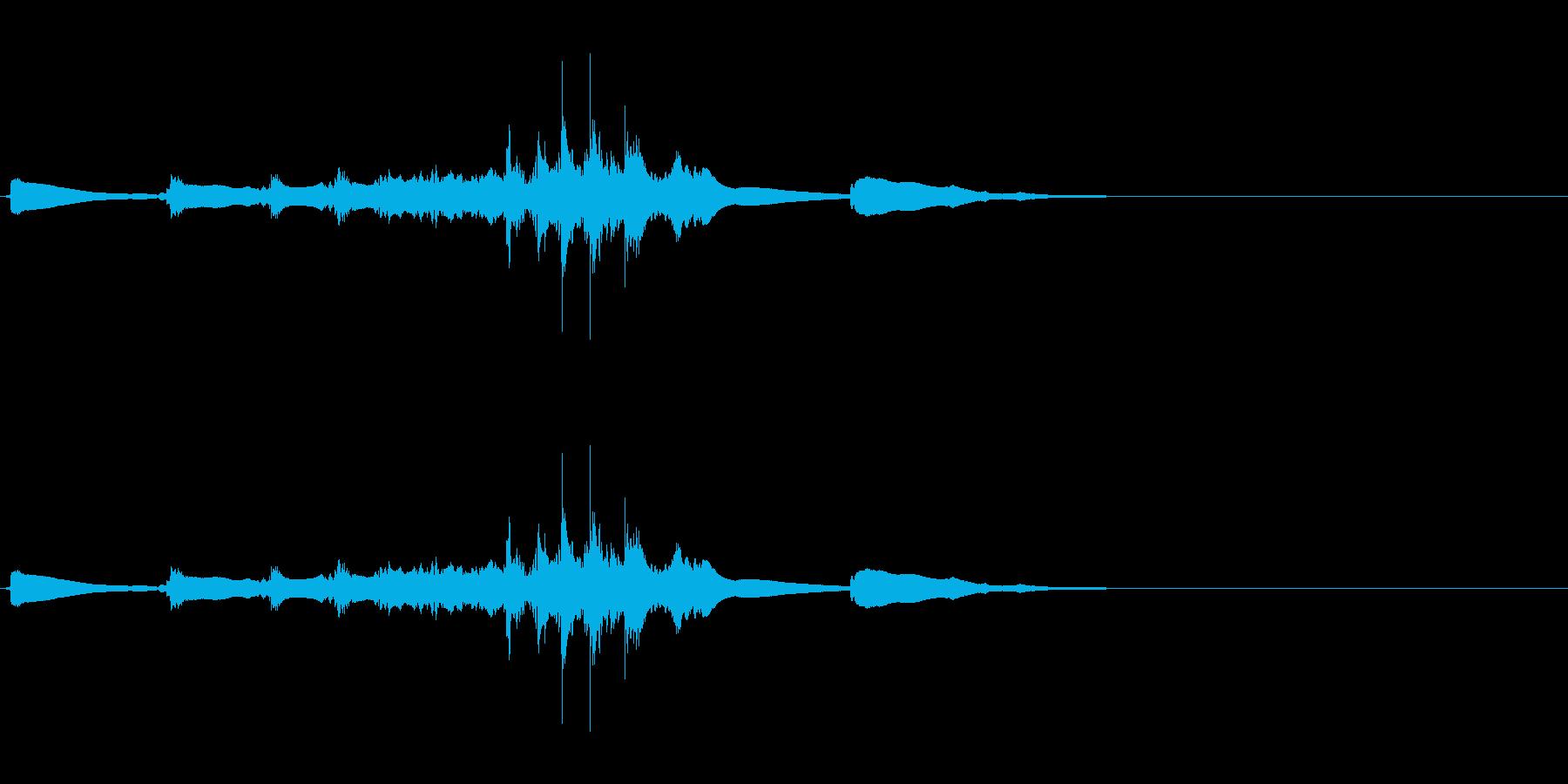 生演奏 琵琶 和風 古典風#7の再生済みの波形