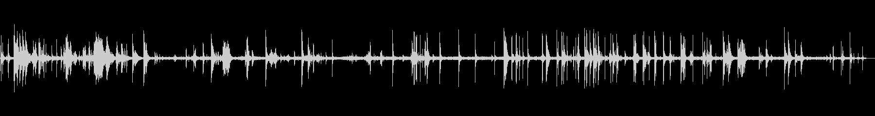 ラトルオブディッシュ、一般的なキッ...の未再生の波形