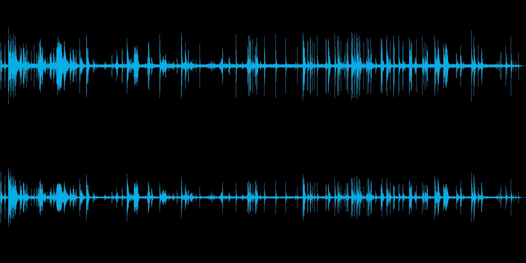 ラトルオブディッシュ、一般的なキッ...の再生済みの波形