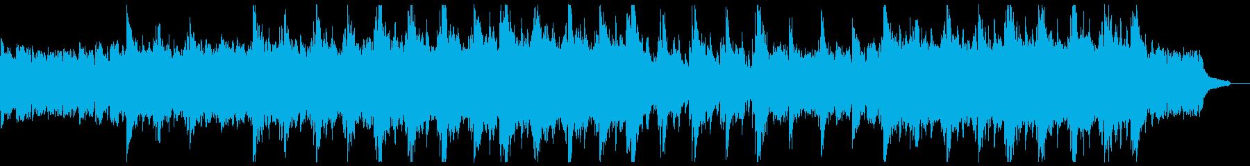 雄大なピアノアルペジオの再生済みの波形