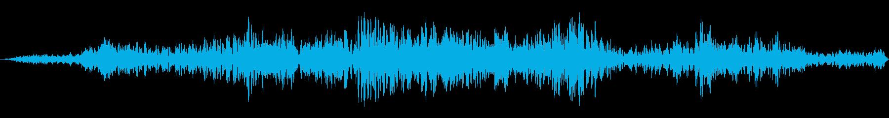 サメが泳ぐ、ドライスウィッシュ、フ...の再生済みの波形