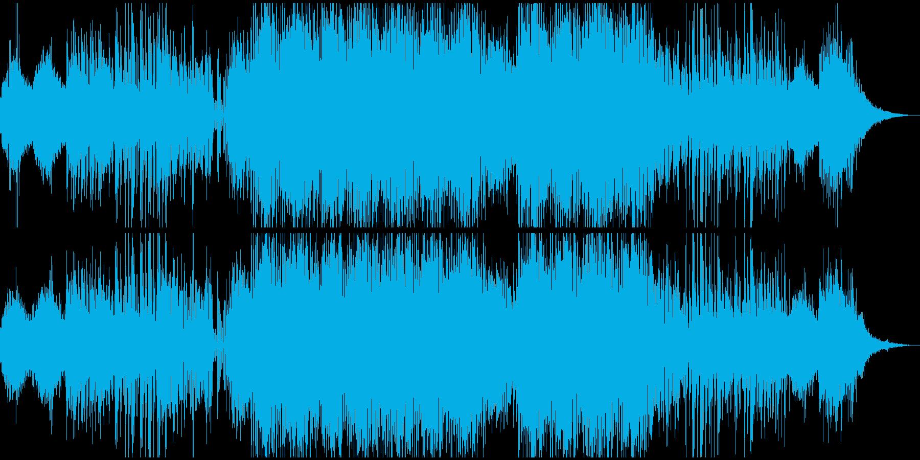 虫の声が蠢くようなアンビテクノサウンドの再生済みの波形