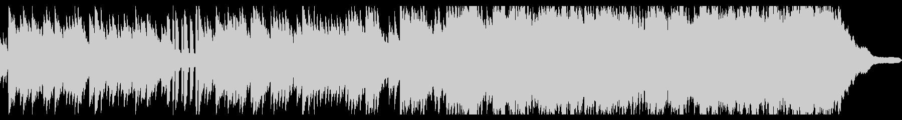ベルとピアノのノスタルジックな曲の未再生の波形