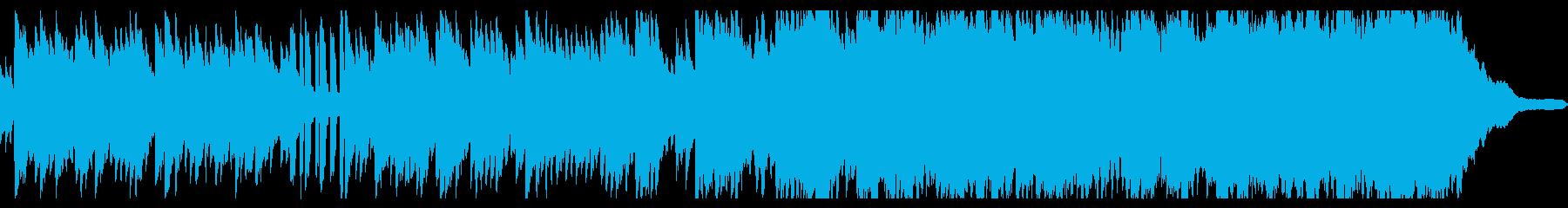 ベルとピアノのノスタルジックな曲の再生済みの波形