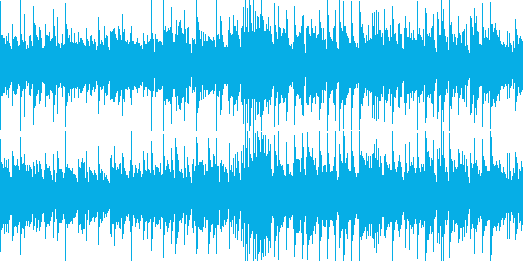 刺激的で楽観的なムードを持つポジテ...の再生済みの波形