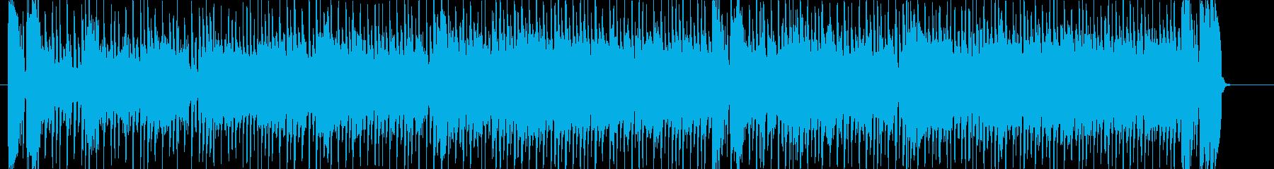 淡々とした雰囲気のファンクロックの再生済みの波形
